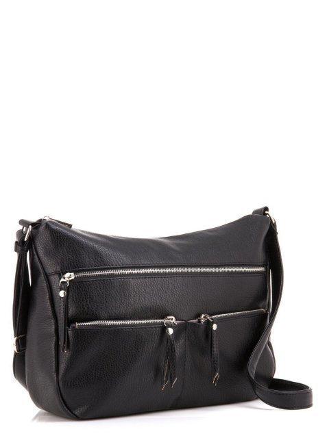 Чёрная сумка планшет S.Lavia. Вид 3.