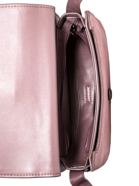 Сиреневая сумка планшет Valensiy. Вид 5.