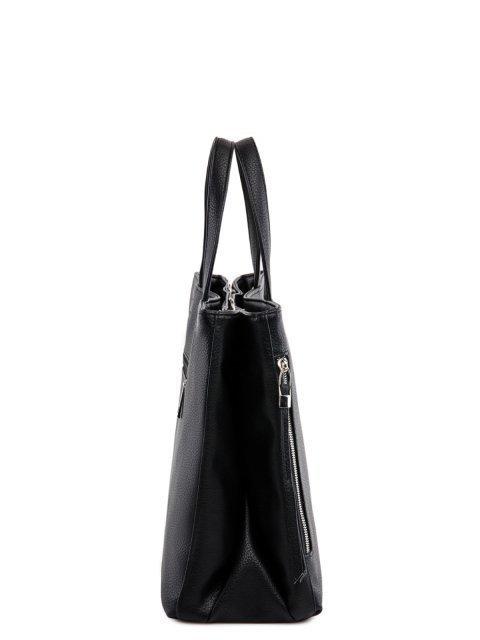 Чёрная сумка классическая S.Lavia. Вид 3.