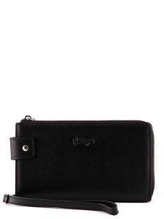 Чёрная сумка планшет Karya предпросмотр