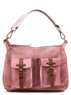 Розовая сумка мешок Domenica предпросмотр