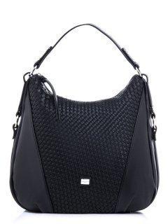 Чёрная сумка мешок David Jones предпросмотр