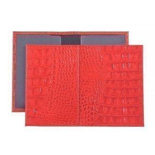 Красная обложка для документов S.Lavia предпросмотр