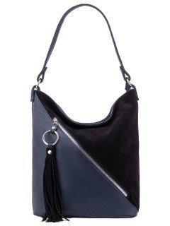 Синяя сумка мешок S.Lavia предпросмотр