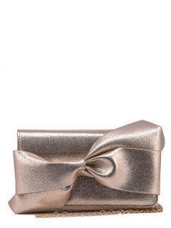 Золотая сумка планшет Domenica предпросмотр