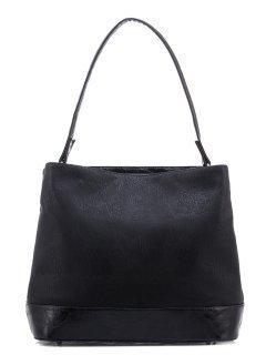 Чёрная сумка мешок S.Lavia предпросмотр