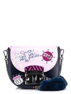 Синяя сумка планшет Cromia предпросмотр