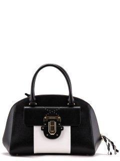 Чёрная сумка классическая Cromia предпросмотр