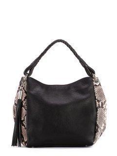 Чёрная сумка мешок Arcadia предпросмотр