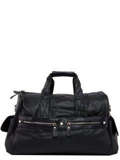 Чёрная дорожная сумка Bradford предпросмотр