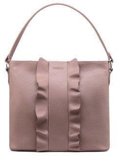 Бежевая сумка мешок Tesorini предпросмотр