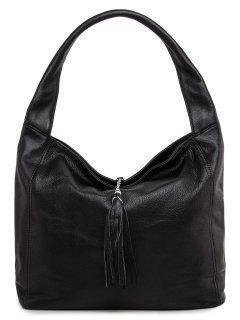 Чёрная сумка мешок Angelo Bianco предпросмотр