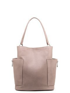 Бежевая сумка мешок S.Lavia предпросмотр
