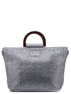 Серебряная сумка классическая David Jones предпросмотр