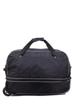 Чёрный чемодан Lbags предпросмотр