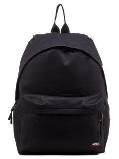 Чёрный рюкзак Lbags предпросмотр