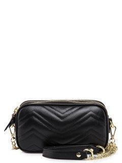 Чёрная сумка планшет Polina предпросмотр