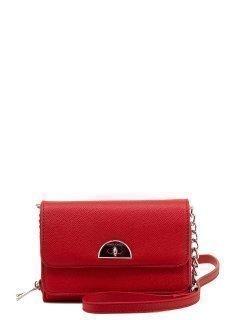 Красная сумка планшет David Jones предпросмотр