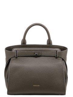Зелёная сумка классическая Angelo Bianco предпросмотр