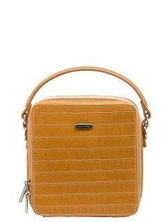 Жёлтая сумка планшет David Jones предпросмотр