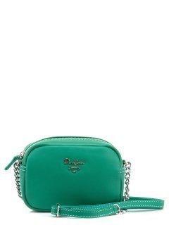 Зелёная сумка планшет David Jones предпросмотр