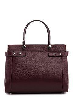 Бордовая сумка классическая Afina предпросмотр