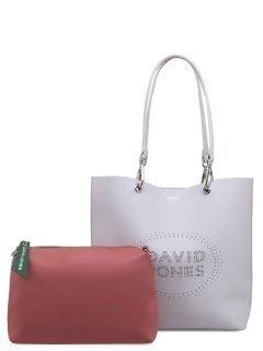 Серый шоппер David Jones предпросмотр