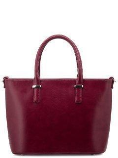 Бордовая сумка классическая S.Lavia предпросмотр