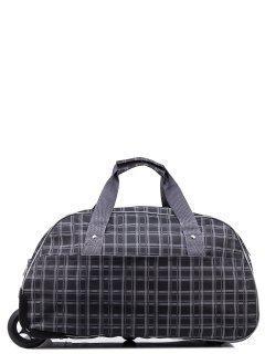 Серый чемодан Lbags предпросмотр