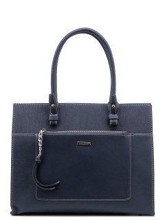 Синяя сумка классическая David Jones предпросмотр