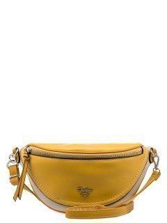 Жёлтая сумка на пояс David Jones предпросмотр