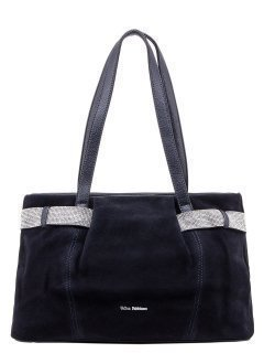 Синяя сумка классическая Fabbiano предпросмотр