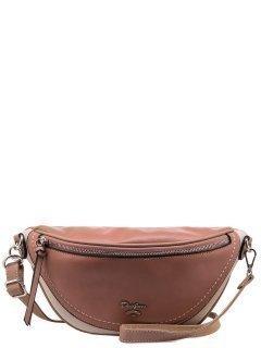 Розовая сумка на пояс David Jones предпросмотр