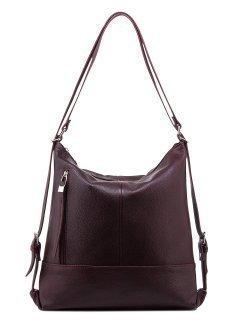 Бордовая сумка мешок S.Lavia предпросмотр