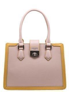 Розовая сумка классическая David Jones предпросмотр