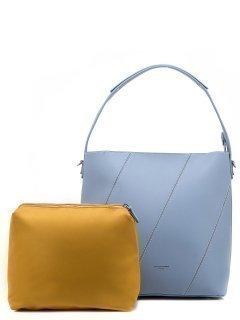 Голубая сумка мешок David Jones предпросмотр
