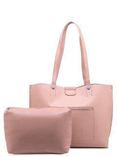 Розовый шоппер David Jones предпросмотр