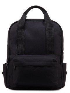 Чёрный рюкзак S.Lavia предпросмотр