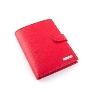 Красное портмоне Karya предпросмотр