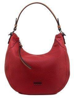 Красная сумка мешок David Jones предпросмотр