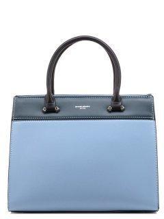 Голубая сумка классическая David Jones предпросмотр
