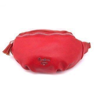Красная сумка на пояс David Jones предпросмотр