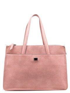Розовый шоппер Domenica предпросмотр