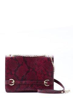 Бордовая сумка планшет Gianni Chiarini предпросмотр