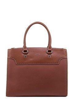 Рыжая сумка классическая David Jones предпросмотр