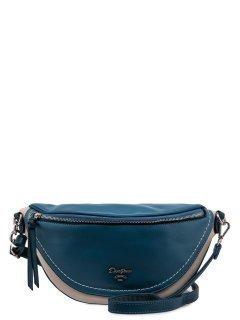 Голубая сумка на пояс David Jones предпросмотр