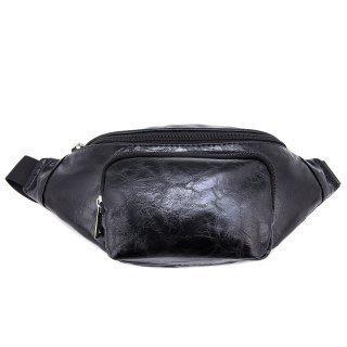 Чёрная сумка на пояс S.Lavia предпросмотр