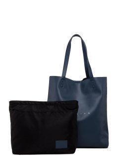 Синий шоппер Polina предпросмотр