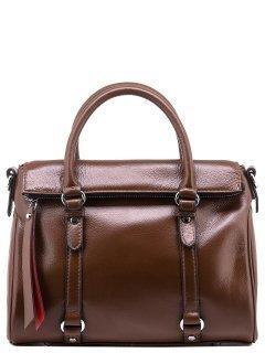 Коричневая сумка классическая Angelo Bianco предпросмотр