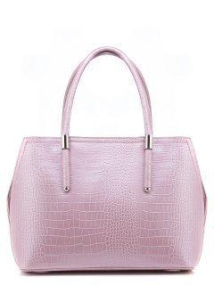 Розовая сумка классическая Domenica предпросмотр